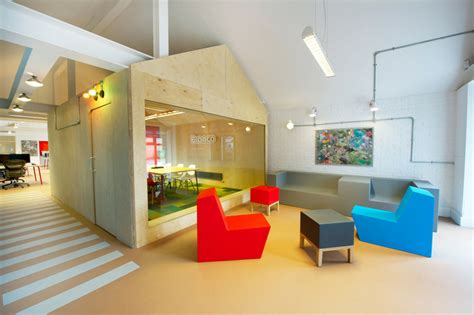 Playfully Colorful Interiors : Inside Bronco's Playful And Colorful Offices
