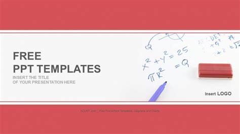 mathematics formula on board education ppt templates