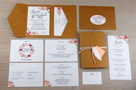 einladungskarten pocketfold   einladungskarten set
