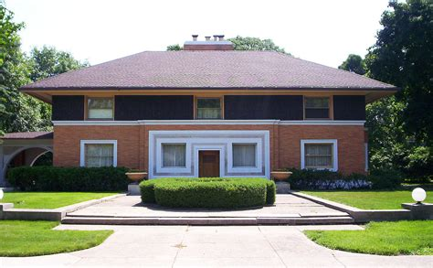 L Home Design Chicago : Winslow House (river Forest, Illinois)