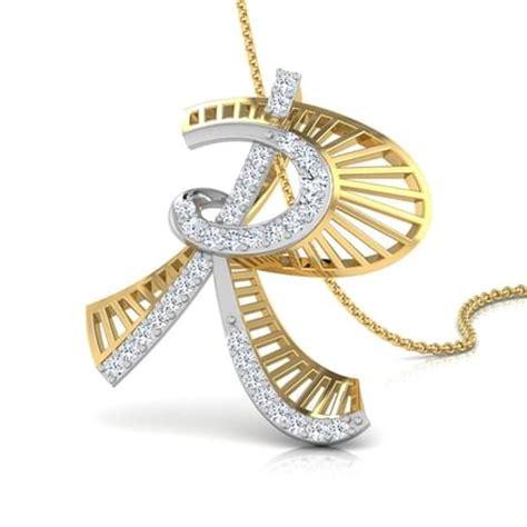 Jalen Alphabet R Pendant Jewellery India Online