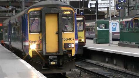 scotrail trains  glasgow central station