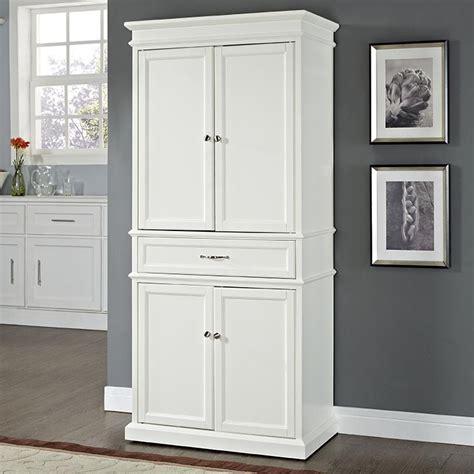 white pantry storage cabinet white kitchen pantry