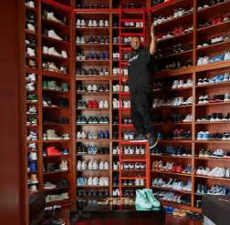 Closet Full Of Sneakers by Check Out Dj Khaled S Shoe Closet Nairaland Latest And