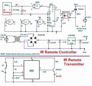 Wiring Schematic Diagram  115 Volt Infrared Remote Control