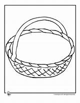 Basket Printable Baskets Coloring Easter Empty Pages Crafts Activities Craft Template Drawing Preschool Printables Woojr Fruit Jr Sheets Kid Print sketch template