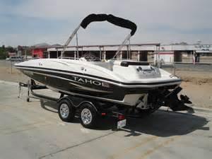 2007 tahoe 195 deck boat sold hi line motorsports