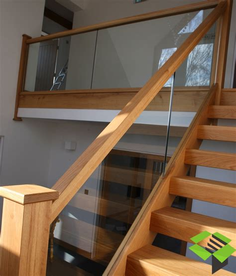 basement window treatment ideas open plan oak and glass staircase stairbox staircases