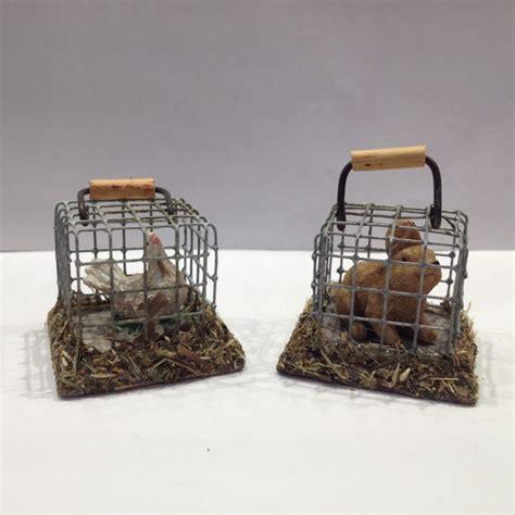 cage avec poule ou lapin