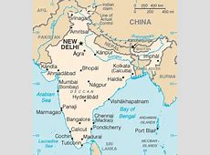 GeographyIQ World Atlas Asia Map of India