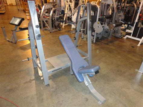 Nautilus Workout Bench by Midwest Used Fitness Equipment Nautilus Nitro Olympic