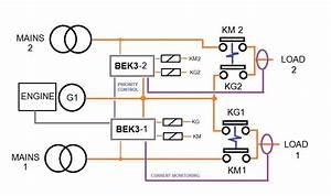 Diesel Generator Control Panel Wiring Diagram  U2013 Generator