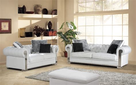 arrival genuine leather chesterfield sofa