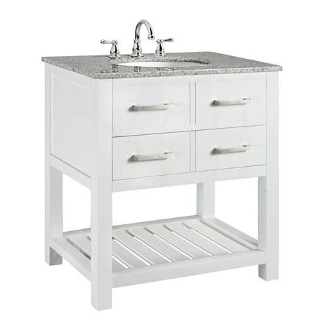 home depot white vanity home decorators collection fraser 31 in w x 21 1 2 in d