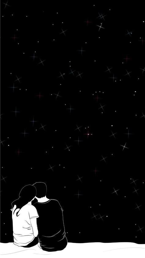iphone aesthetic black anime wallpaper