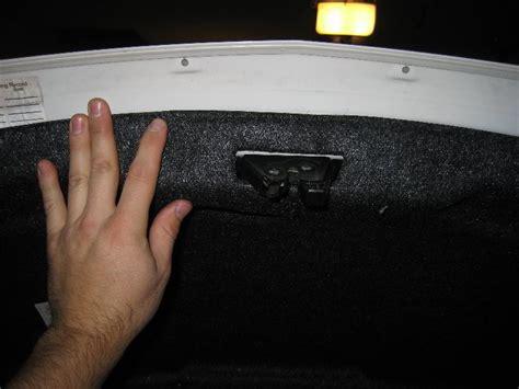 mazda mazda3 high mount 3rd brake light bulb replacement