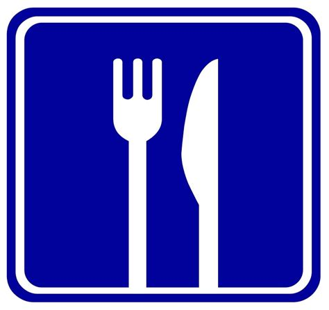 cuisine plaque free illustration eat restaurant sign cutlery free