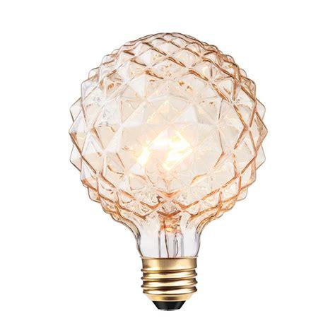 globe electric 40w clear designer vintage edison