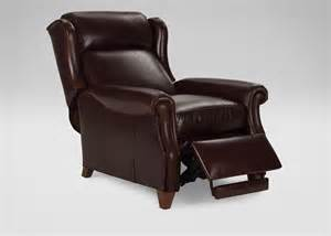 graham leather recliner ethan allen