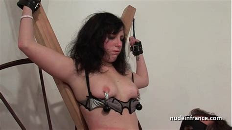 Young French Brunette Hard Sodomized Fisted And Corrected