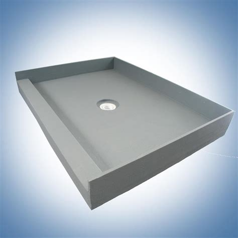 tileable shower pan 36 x 60 pleasing 90 mold in shower pan decorating design of diy
