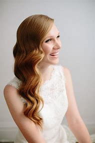 Wedding Hollywood Waves Hair