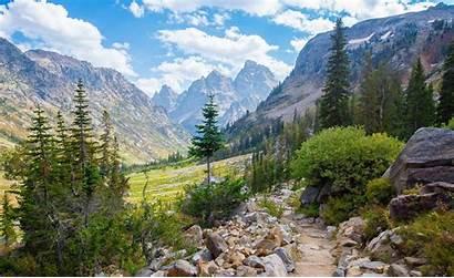 Teton Grand National Park Earthporn Canyon Cascade