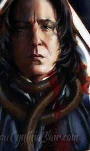 Severus Snape, detail by Cynthia-Blair on DeviantArt