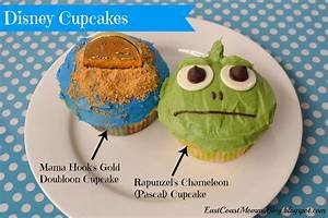 East Coast Mommy: Disney Cupcakes