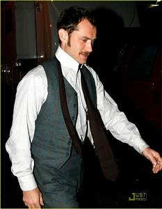 Jude Law is the Mustache Man: Photo 1674431 | Jude Law ...