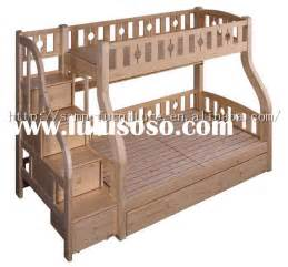 plans for bunk beds with stairs woodworking ideas
