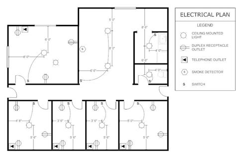 Sample Office Electrical Plan Parra Electric Inc