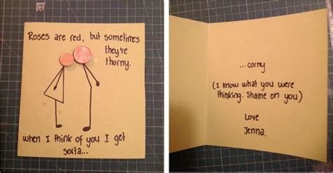Cute Men Templates by Homemade Birthday Card Ideas For Him Diy Birthday Card For