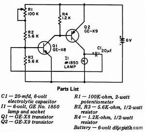 Index 40 LED and Light Circuit Circuit Diagram