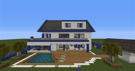 Moderne Häuser In Minecraft by Moderne Villa Mit Alarmanlage Minecraft Project
