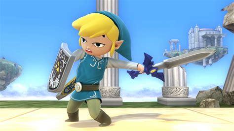 BotW Toon Link (Super Smash Bros. for Wii U > Skins > Toon