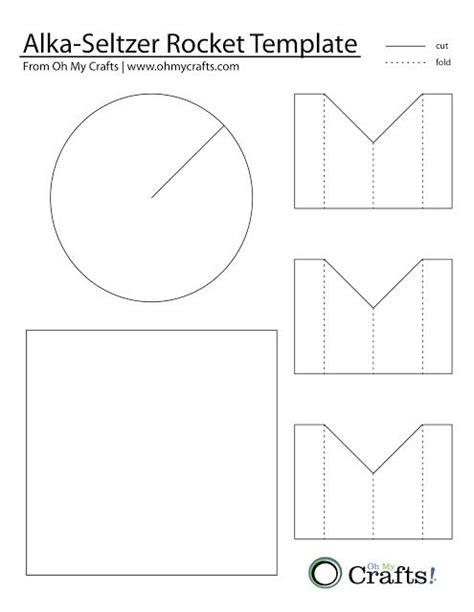 Paper Rocket Template | Template Paper Rocket Straw