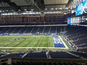 Ford Field Seating Chart Concert Ford Field Section 234 Detroit Lions Rateyourseats Com