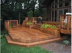 ground level deck PATIOHOME Pinterest