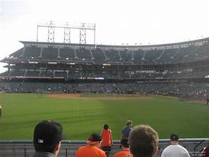 At T Park Seating Chart With Rows And Seat Numbers Oracle Park Section 138 San Francisco Giants