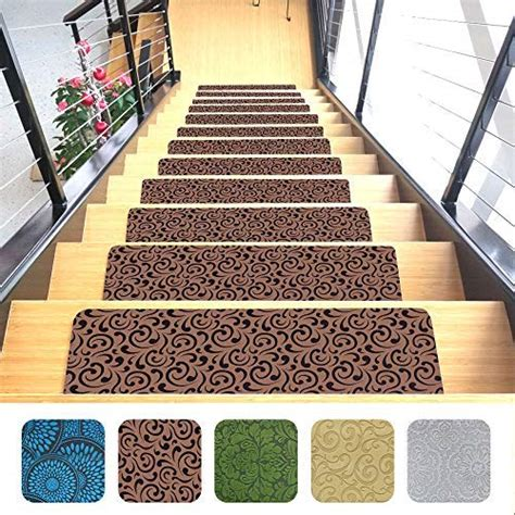 stair runners carpet mats indoor cheap amazon carpets rubber slip quality thin backing microfiber x26 resistant install ultra premium quick
