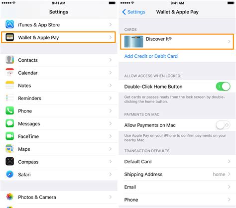 how to remove a credit card from iphone how to remove credit card information from your iphone