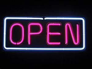 Neon Open Sign Bing images