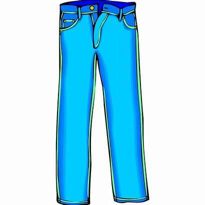 Pants Clipart Trousers Clip Jeans Shorts Clothes