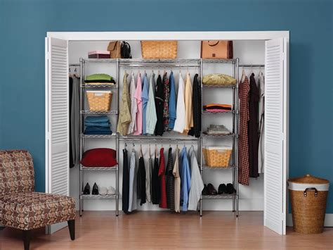 Closet Expandable Closet Organizer For Bedroom Storage