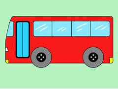Red Bus Drawing  Bus Drawing