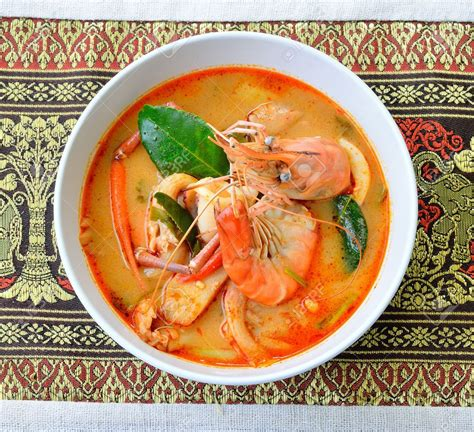 january  recipe   month tom yum goong