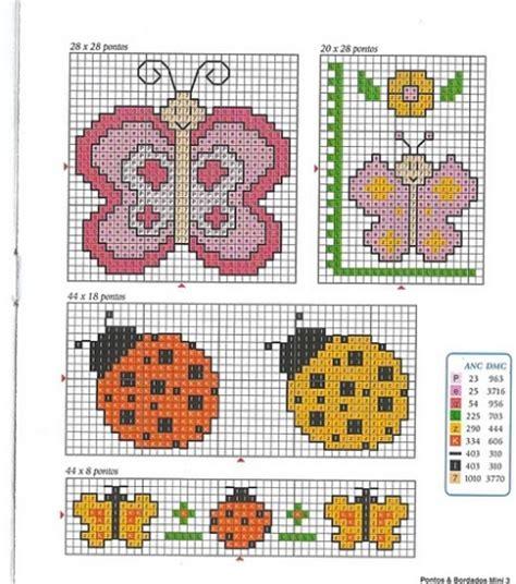 shabby fabrics patrones gratis patrones de punto de cruz gratis para beb 233 s imagui punto cruz insectos pinterest cross