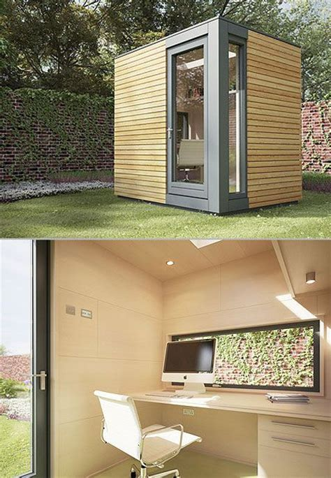 Backyard Office by Backyard Office Small Space Design Inspiration