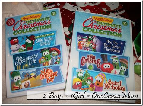 enjoy the holidays with veggie tales and their ultimate